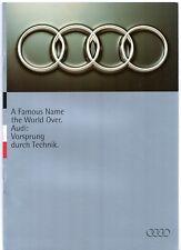 Audi 1994-95 UK Market Sales Brochure 80 Coupe Cabriolet S2 A6 S6 A8