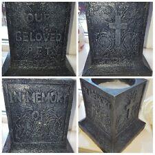 Latex Craft Mould Beloved Pet Urn Memorial Reusable Art & Crafts Hobby Business