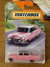 2020 Hot Wheels Pink 55 Cadillac Fleetwood