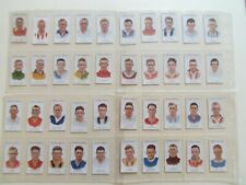 Carreras cigarette cards: Footballers (Series of 75) 1934 Complete set of 75