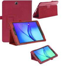 CUSTODIA COVER Integrale SMART SUPPORTO per Samsung Galaxy Tab A 9.7 T550 Rossa