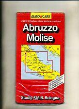 Carte stradali delle regioni 1:3000.000 - ABRUZZO, MOLISE # Euro Cart