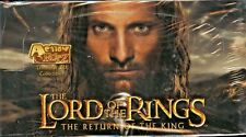 LORD OF THE RINGS RETURN OF THE KING ACTION FLIPTZ 3D CARDS SEALED BOX 36 PACKS
