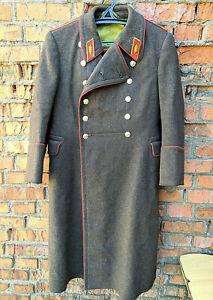 General Winter Coat Shinel Uniform Original Soviet Army