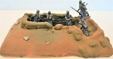Classic Toy Soldiers World War II Infantry Fighting Bunker Position