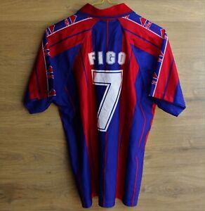 FC BARCELONA 1992 SHIRT JERSEY CAMISETA SPAIN #7 FIGO SIZE M