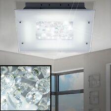 LED 16W Ceiling Lamp Blossom Dining Room Lighting Crystal Glass Hall Bath Light
