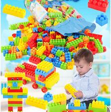 200 pcs DIY Kids Plastic Building Blocks Toy