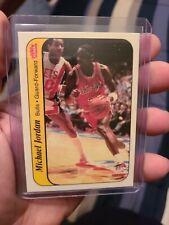 Michael Jordan Fleer 1986 Rookie Sticker Rp? Mint Sharp Invest Goat Hof Bulls...