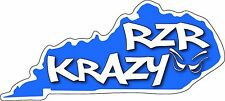 RZR Krazy Special Edition KY 9 Inch long Decal