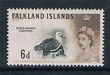 Falkland Is 1960 6d Black & sepia SG 200 MH