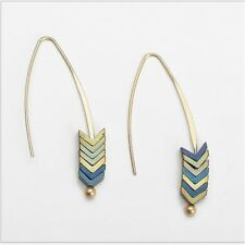 Women Trendy Alloy Geometric Arrow Earrings Vintage Bohemian Earrings Jewelry UK
