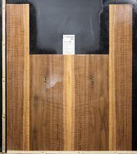 Tonewood Nero Noce Risonanza Chitarra Builder Acoustic Schienali & Lato 347