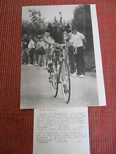 photo presse cyclisme vélo -  TOUR DE FRANCE BERT OOSTER ( ref 23