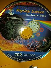 CPO Physical Science; Foundations of; Electronic Book CD  sealed 1-58892-177-8