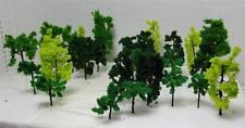 N Gauge-Railroad Scenery-Assorted Model Trees-3 Sizes-3 Colors-36 Pieces Total