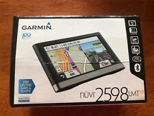 Garmin Nuvi 2598 LMT GPS Navigator Bundle.Open Box.