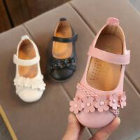 Summer Toddler Child Kids Baby Girls Flower Woven Floral Princess Shoes Sandals