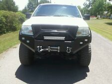 GRIZZLYS FRONT WINCH PLATE BUMPER FITS: 2004-2008 FORD F150 Raw Metal finish