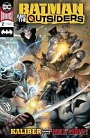 Batman and the Outsiders #2 DC Universe Comic 1st Print 2019 unread NM Kirkham