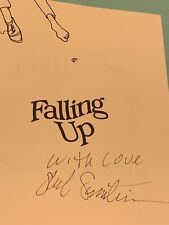 """Shel Silverstein, autographed book, """"Falling Up"""", signed collectible RARE,author"""