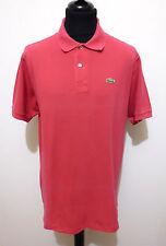 LACOSTE Polo Maglietta Uomo Cotone Cotton Man Pole T-Shirt Sz.XXL - 54