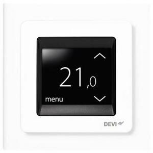 DEVIreg Touch Thermostat White DEVI UNDERFLOOR TILE HEATING