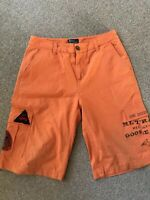 ORANGE SWIM SHORTS RALPH LAUREN AGE 18 SUMMER TOWIE FOOTBALL GOLF SPORT CYCLE