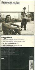 CD 2 TITRES - RAGGASONIC feat. SUPA : LAISSE LE PEUPLE S' EXPRIMER