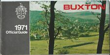 BUXTON 1971 Official Guide information illustrated adverts