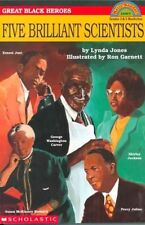 (Good)-Scholastic Reader Level 4: Great Black Heroes: Five Brilliant Scientists: