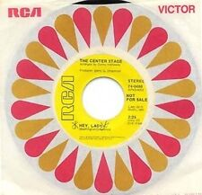 DANCE 45 - CENTER STAGE - HEY LADY b/w SOMEDAY, SOMEHOW - RCA PROMO - D.HATHAWAY