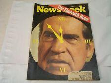 NEWSWEEK NIXON THE ELEVENTH HOUR AUGUST 12, 1974