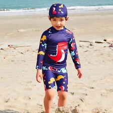 Costume da bagno per bambini Kids Costumi da bagno Bambino Stampa Manica Lunga nuotata Surf Tute