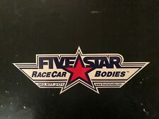 FiveStar decal sticker race car bodies body nascar late model asa cra nhra