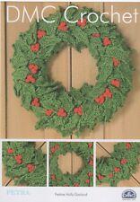 DMC 15329L/2 festosa Holly Garland Crochet Pattern