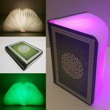 Celtic Design LED Book Lamp with Bluetooth Speaker