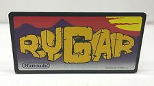 Rygar Nintendo Playchoice 10 Arcade Topper Marquee, Original Sign