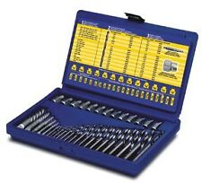 Irwin Hanson 35pc Master Extractor and Left Hand Cobalt Drill Bit Set #11135