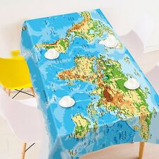 3D Map 4820 Tablecloth Table Cover Cloth Birthday Party Event AJ WALLPAPER AU