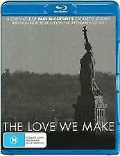 THE LOVE WE MAKE BLU RAY - NEW & SEALED SIR PAUL McCARTNEY, MICK JAGGER, ELTON