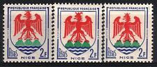"FRANCE STAMP TIMBRE 1184 "" BLASON NICE 2F VARIETES COULEUR "" NEUFS xx LUXE M360A"