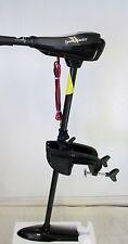 SPORT MASTER 12Volt 55 lbs Electric Trolling Motor & Free Fishing Reel as  Gift