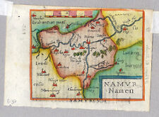 Namur-Namür-Nameur-Belgien Ortelius um 1600