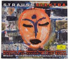 RICHARD STRAUSS Elektra 2-Disc CD BOX SET Giuseppe Sinopoli DGG Germany 1997