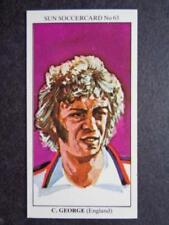 Cromos de fútbol de coleccionismo originales Premier League temporada 1978