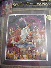 RARE Scarlet Wizard-DIMENSIONS gold collection Counted Cross Stitch Kit 35141