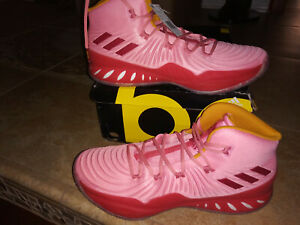 NEW $150 Mens Adidas  Crazy Explosive NBA Los Angeles Basketball Shoes size 15