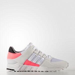 adidas EQT Support RF Womens Girls Trainer Running Shoe Size 5 5.5 6 White Turbo