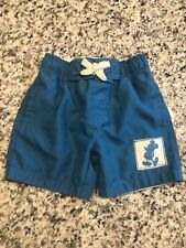 Boys 3t Toddler Disney By Junk Food Mickey Mouse Blue Swim Trunks 3t